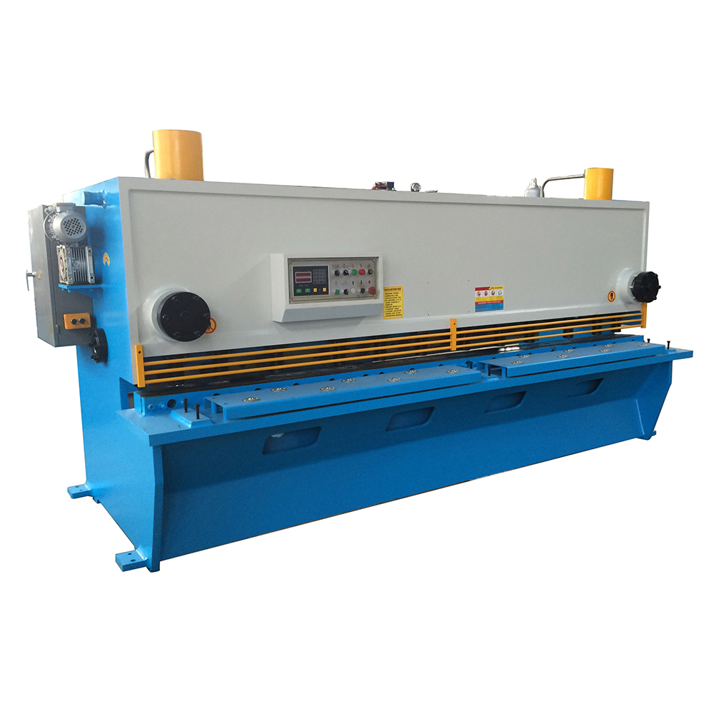 QC11K/<strong>Y</strong> 8/2500 High Efficiency Sheet Metal Guillotine Cutting Shearing Machine Price