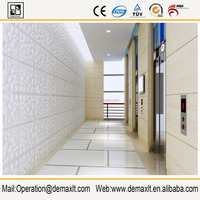 Kitchen wall covering panel, kings fireproof waterproof paintable embossed decorative 3d wall panel interior decoration