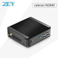 XCY Mini PC with 8G Ram Celeron N2830 2.16GHz Dual-Core 64G Hard Disk Aluminium Alloy Embedded computador Windows7