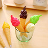 special design pen sweet ice cream shape cartoon ball pen for souvenir