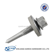 Hex Rubber Washer Head #12 x 1-1/2 Self-Drilling Roofing Siding Screw