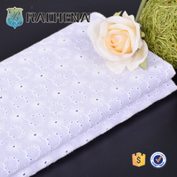 As customer's requirement Soft-touching Net Embroidery Fabric Design
