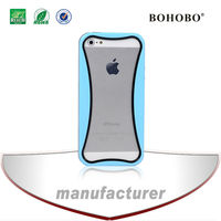 Mold make hydrid TPU+PC cell phone case For iphone 5
