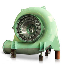 Mini water turbine generator for hydro power plant