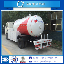 Quality 100% guaranteed Dongfeng 4x2 mini lpg gas bullet tank truck
