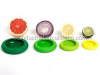 2016 new hot sale wholesale silicone reusable food hugger for fruit fresh