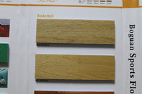6.5 to 9.0mm Best Price PVC Flooring for indoor sport court with Wood Grain from china