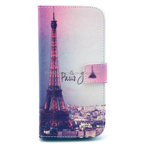 Animal Designs Printed PU Leather Cute Case for Blackberry z10