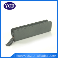 2015 Alibaba Website Fashion And Cheap Leather Girly Pencil Case