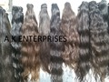 100% unprocessed virgin Indian temple hair