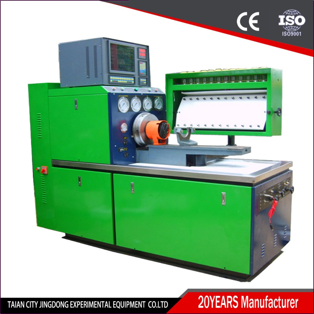 JD-II Double System Diesel Fuel Injection Pump Test Bench, Most Popular Calibration Machine Model