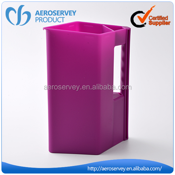 Best sales red plastic water pitcher with lid