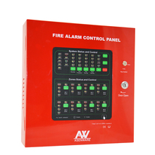 Conventional 8 zone 2 wired fire alarm control panel