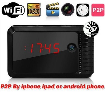 Best Quality hot sell wifi hidden camera with night vision