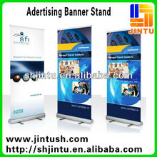 Hot sales!!! Double sided Outdoor vertical banner stand for restaurant