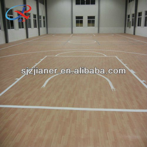 Used Basketball Court PVC Sport Floor