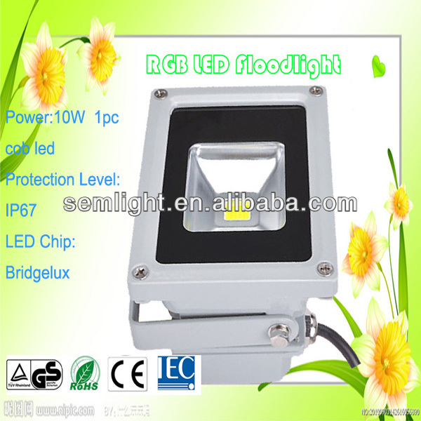 DMX Controlled RGB High Brightness LED Floodlight
