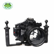 Seafrogs Newest 40m/130ft Underwater Camera Housing Diving Camera Waterproof Case for Canon 5D Mark III/IV