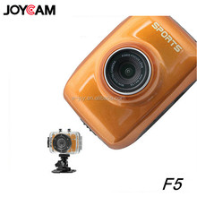 Hot new products for 2014 touch screen hd720p F5 waterproof camera with sports mode