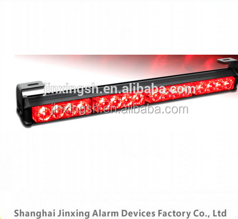 Hot sale Super slim Led work light bar, red blue bumper Fog lamp