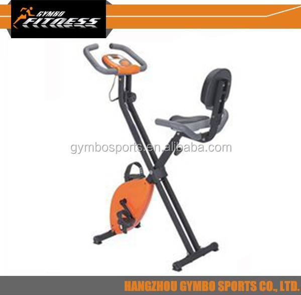 Competitive price GB917B2 serie useful X shape body fit strength upright exercise bike