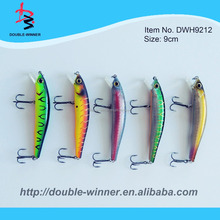 Hot sale DW9212 with short lip plate striper vibrating wobbler fishing lure