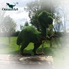 OA5279 Artificial garden fake grass topiary animals with wire topiary frames