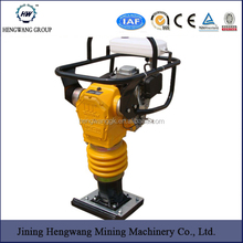 Tamping rammer is applicable to all kinds of sands, gravel, concrete, soil cohesive, pitch, etc