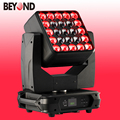 wedding panel 5x5 led matrix 4in1 zoom wash moving head light for sale