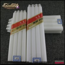 hotsale exported African market white stick lighting household candle