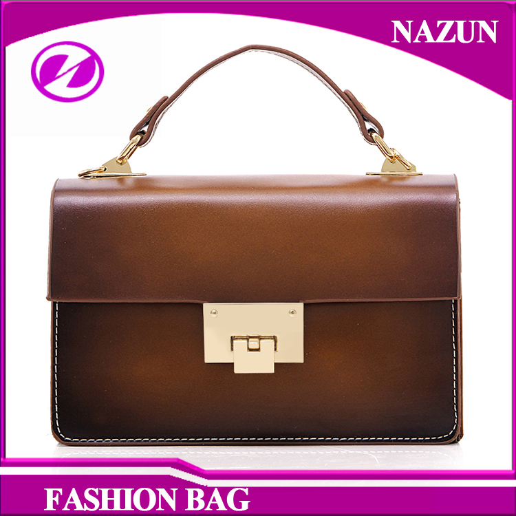 online shopping china factory high quality leather women handbags school vintage style clutch bags sling bag for traval