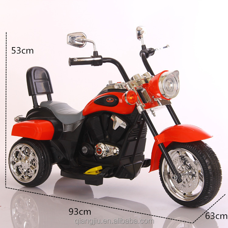 cheap electric motorcycle /kids rechargeable battery carpassed 3C/SGS approval