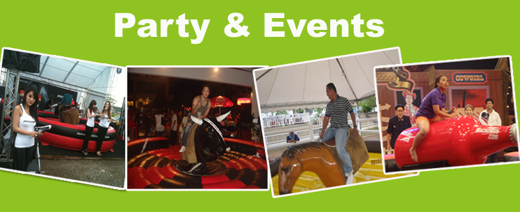 China best Cool black body Mechanical Bull with inflatable mat for Amusement park