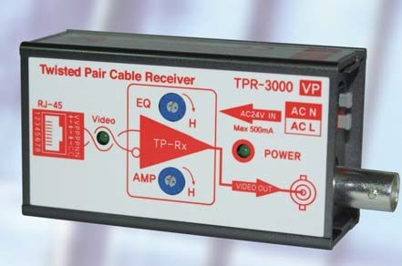 Video & Power Transmitter TPR3000VP