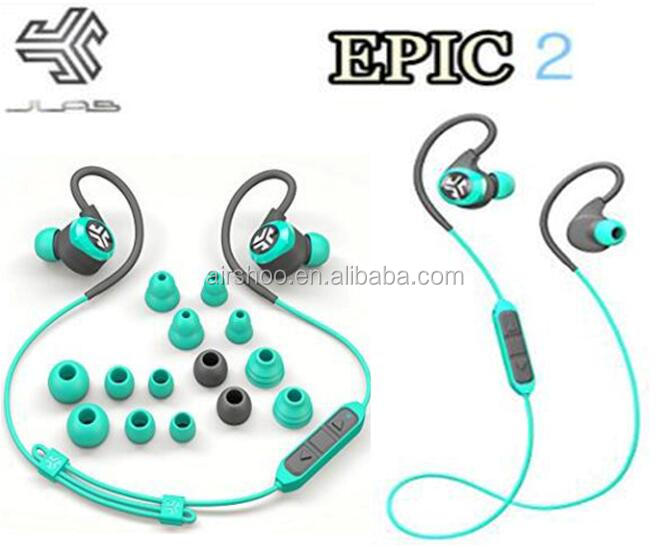 JLab Epic2 Wireless Sport Earbuds Best sell Amazon Bluetooth headset double ear Headphones Earphones epic 2 PK X2 earphone GO3