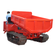 Crawler trailer 2 ton dump truck transport truck for sale