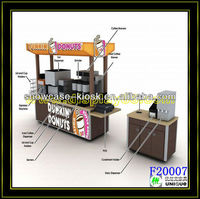 2013 Summer Outdoor mobile fast food carts kiosk for sale with wheels