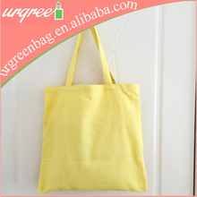Reusable Colorful Cotton Girl Tote Bag For Shopping