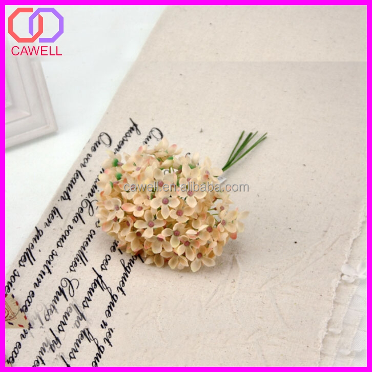 cheap small stem artificial flower cloves for sale