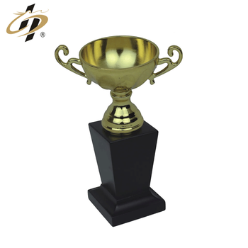 Promotion gift custom gold world cup award metal souvenir trophy