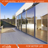 Superb quality hot sale insulated aluminum sliding glass door