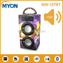 Digital bluetooth speaker for mobilephone/computer/MP3 ,also support FM radio/U disk/SD card