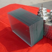 Paper carton package cutting size clear sheet glass