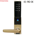 RF RFID Key Card Password Fingerprint Door Lock Security System for Hotel