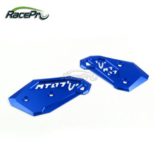 Heel Guard Footpeg Plate Boot Protection For Yamaha MT-07 FZ-07 2014 2015 2016