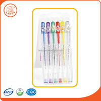Lantu China Alibaba Market Cheap Colorful Glitter Gel Pens For School And Office
