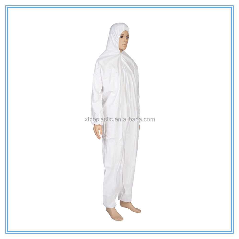 50gsm microporous film laminated coverall sf pp coverall disposable