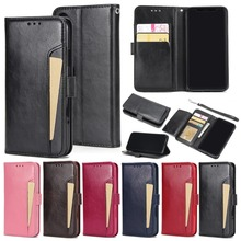 cell phone case super slim card holder flip cover wallet leather case for iphone x 8 7 7 plus 6 6s plus