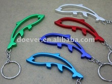 Whale Shaped Bottle Opener KeyChain