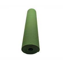 High Quality TPE Customize Hemp Yoga Mat With Private Label